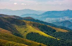 Carpathian Mountain Range in late summer Royalty Free Stock Photography