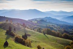 Carpathian mountains landscape Royalty Free Stock Photos