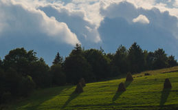 The Carpathian Mountains 26. The Carpathian Mountain landscape view in the Ukrainian part of mountains Stock Image