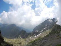 Carpathian Mountains - Mountain Panorama Stock Images