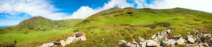 Carpathian Mountains panorama Royalty Free Stock Image