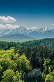 Carpathian Mountains Scenery Stock Photos