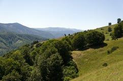 Carpathian Mountains Sibiu county Romania Stock Photo