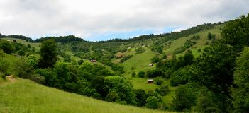 Carpathian Mountains Sibiu Romania Transylvania Royalty Free Stock Images