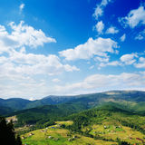 Carpathian mountains in summer Royalty Free Stock Photo
