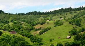 Carpathian Mountains Transylvania Stock Image