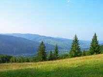 Carpathian mountains, Ukraine Stock Images