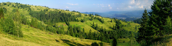 Carpathian mountains, Ukraine Royalty Free Stock Images