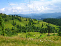 Carpathian mountains, Ukraine Stock Photography