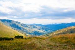 Carpathian mountains in Ukraine Stock Image