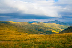 Carpathian mountains in Ukraine Royalty Free Stock Images