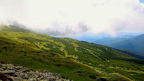 Carpathian Mountains stock footage