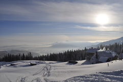 The Carpathian mountains. Stock Images