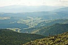 carpathian najlepszy widok góry Zdjęcia Royalty Free