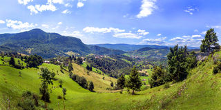 carpathian najlepszy widok góry Zdjęcie Royalty Free