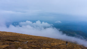 carpathian najlepszy widok góry Obrazy Royalty Free