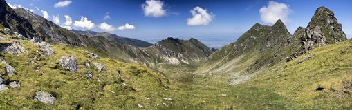 Carpathian panorama Royalty Free Stock Photo