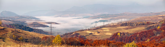 Carpathian panorama Royalty Free Stock Images