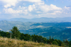 Carpathian& x27;s in Summer Royalty Free Stock Photo