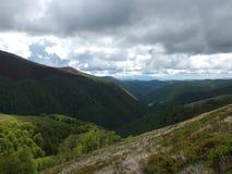 Carpathian slopes Royalty Free Stock Photos