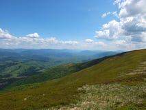 Carpathian vidder Royaltyfri Foto