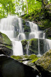 The Carpathian Waterfall Shypit. The Carpathian Mountains with Shypit waterfall landscape view in the Ukrainian part of mountains Royalty Free Stock Photo