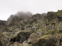 Carpathians κορυφογραμμή Στοκ Εικόνες
