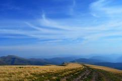 Carpathians πανόραμα Στοκ Εικόνες