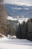 Carpathians σε Bukovelya Στοκ φωτογραφία με δικαίωμα ελεύθερης χρήσης