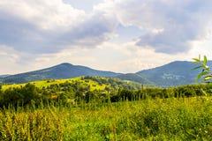 Carpathians στα τέλη του καλοκαιριού Στοκ φωτογραφίες με δικαίωμα ελεύθερης χρήσης