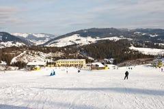 carpathians χειμώνας τοπίων Στοκ εικόνες με δικαίωμα ελεύθερης χρήσης