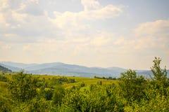 carpathians χωριό Στοκ φωτογραφία με δικαίωμα ελεύθερης χρήσης