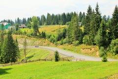 carpathians 库存图片