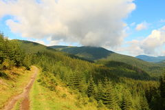 carpathians Fotografia Stock