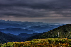 carpathians Foto de Stock