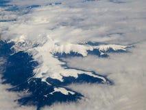 Carpathians - aerial view Stock Images