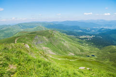 Carpathians berg Arkivbild