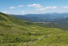 carpathians berglandskap Royaltyfri Foto