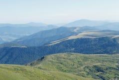 carpathians berglandskap Royaltyfri Fotografi