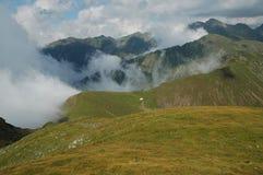 carpathians fagarasberg romania Royaltyfria Foton
