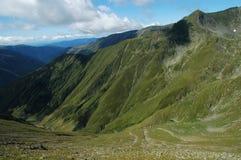 carpathians fagarasberg romania Arkivbild