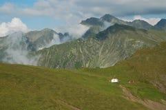 carpathians fagarasberg sydliga romania Arkivbild