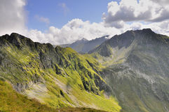 Carpathians gór piękny krajobraz Obraz Stock