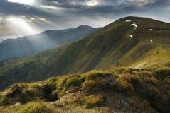 carpathians góry sceneria zdjęcia stock