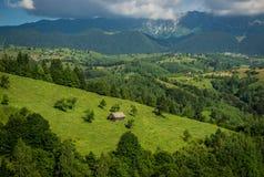 Carpathians i Rumänien Royaltyfri Fotografi