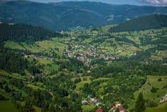 Carpathians i Rumänien Arkivbild