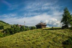 Carpathians i Rumänien Royaltyfria Bilder