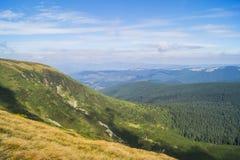 Carpathians i Ukraina Royaltyfri Foto
