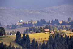 Carpathians in July Royalty Free Stock Photography
