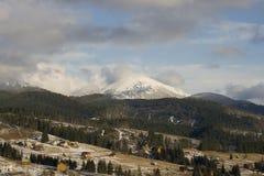 Carpathians landscape Stock Photo
